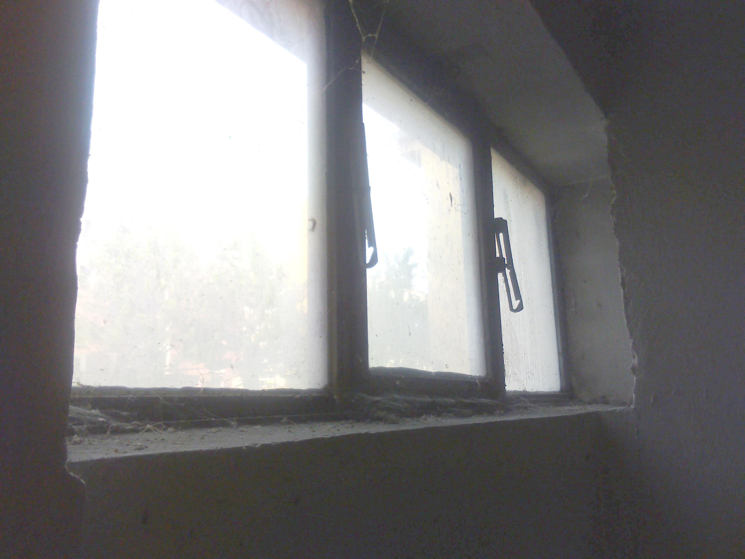Okna k zabezpečení (příp. k zazdění)